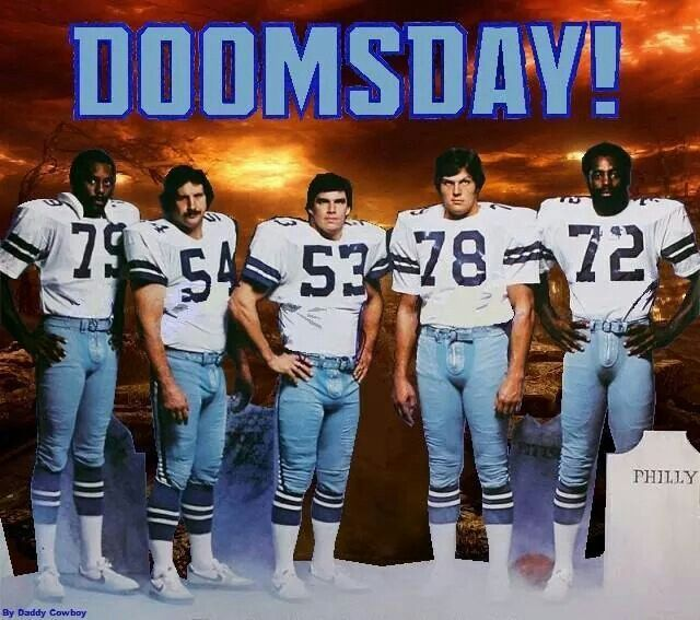 "Doomsday Defense - Harvey Martin, Randy White, Bob Bruening, John Dutton & Ed ""Too Tall"" Jones"
