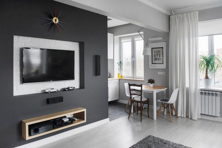 Дизайн однокомнатной хрущевки площадью 30 кв.м. | http://idesign.today/dizajn-interiera/dizajn-odnokomnatnoj-xrushhevki-ploshhadyu-30-kv-m