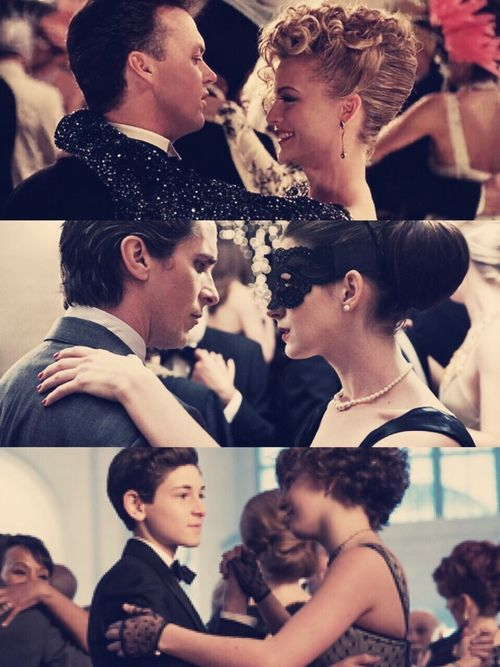 Bruce Wayne+Selina Kyle - Batman Returns, The Dark Knight Rises, Gotham.