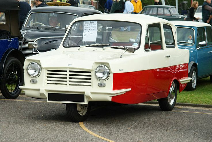 The Reliant Regal Was A Small Three Wheeled Car