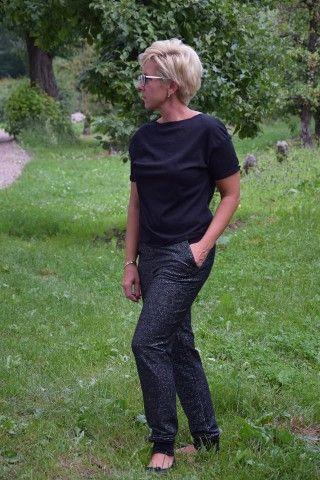 Bluzka CLARA black