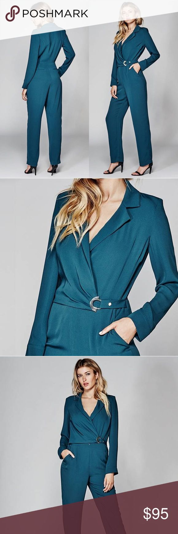 Guess by Marciano designer jumpsuit 💙Beautiful teal formal jumpsuit 〰 New with tag💙 Guess by Marciano Other