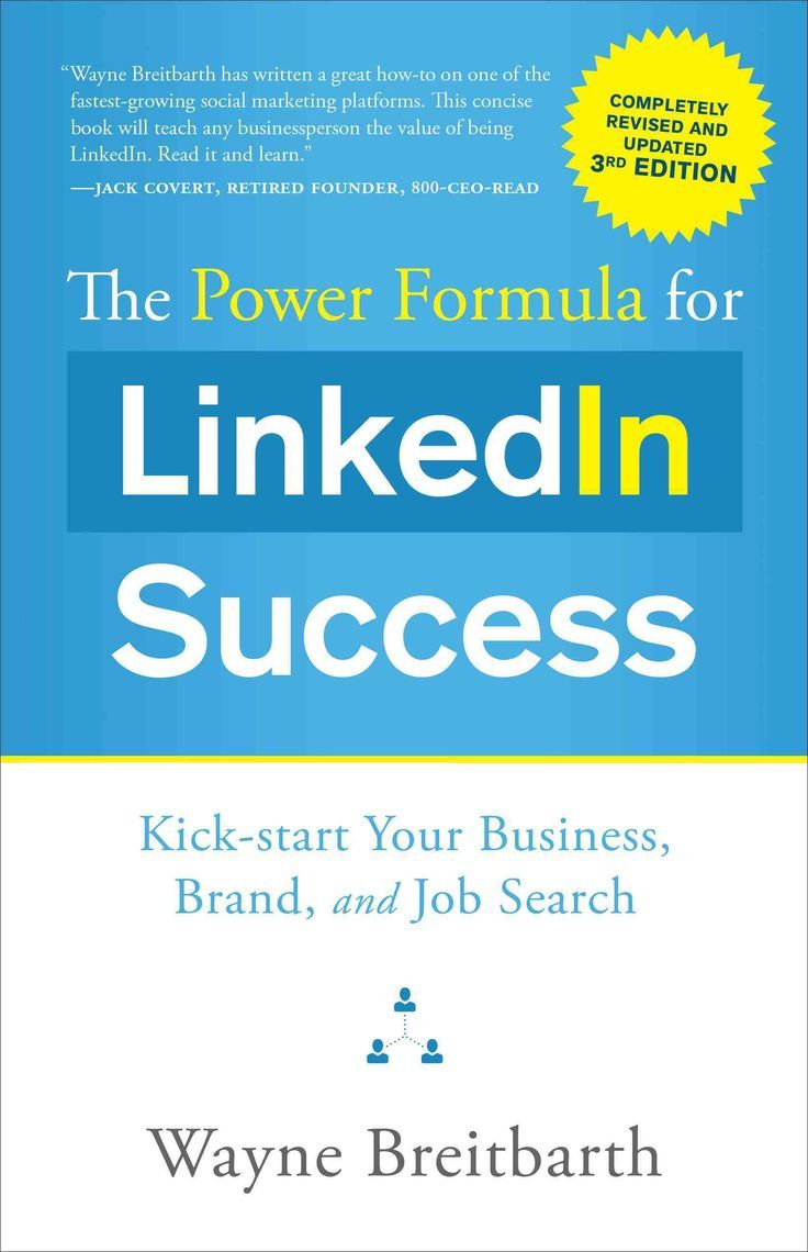 Freshly updated with new information, screenshots, and resources, this third edition of The Power Formula for LinkedIn Success is a valuable expansion of the guide thats helped tens of thousands acces