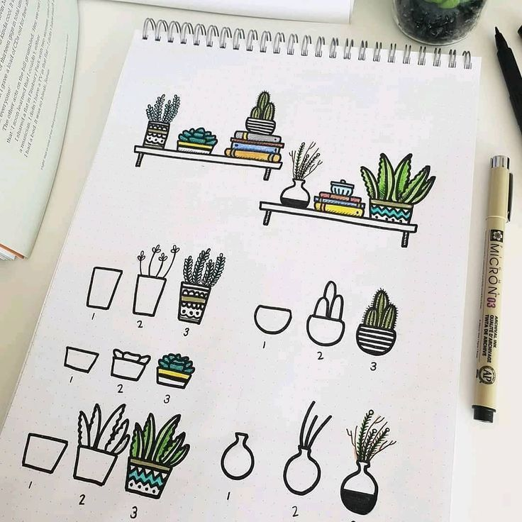 60 Doodle-Tutorials für Ihr Bullet Journal  #bullet #doodle #journal #tutorials