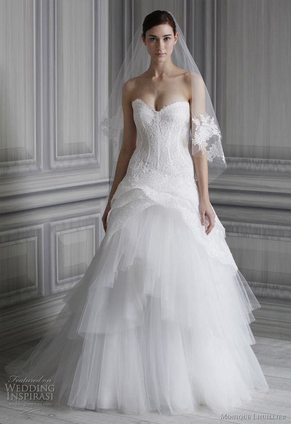 2012 Wedding Dresses with Straps