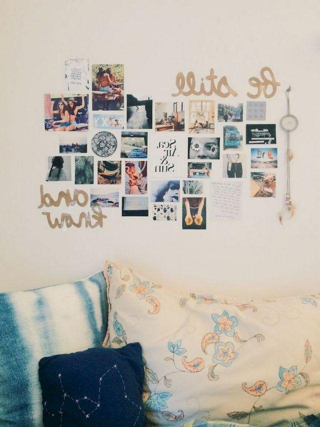 60+ Lovely Cute DIY Dorm Room Decoration Ideas BEDROOM Pinterest