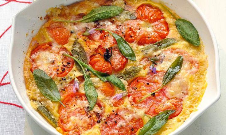 Tomaten Frittata