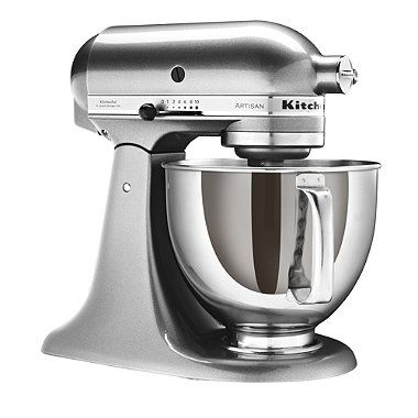 Silver KitchenAid® Artisan® Stand Mixer - From Lakeland