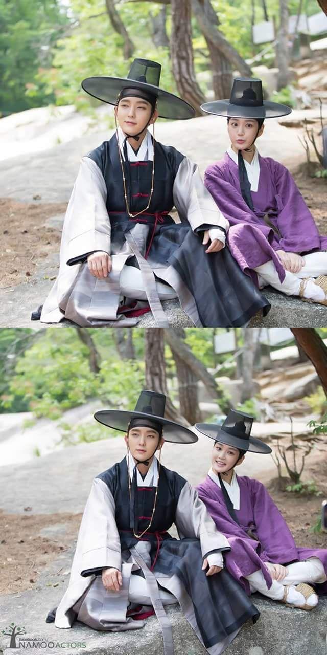 Scholar who walks the night - Lee joon gi & Lee yoo bi