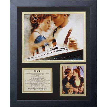 Legends Never Die Titanic Framed Photo Collage, 11 inch x 14 inch