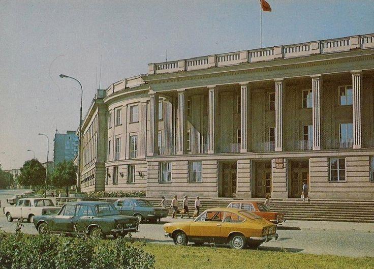 Wydział Filologiczny i Wydział Historyczno-Socjologiczny UwB, Białystok - 1978 rok, stare zdjęcia
