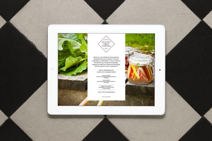 Helsinki Food Company - web site