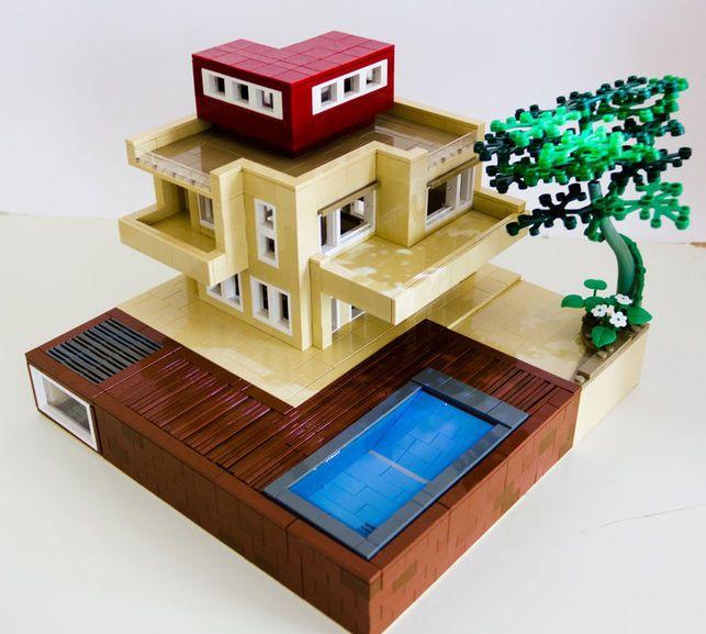 20 best i love legos images on pinterest legos toys and for Maison moderne lego