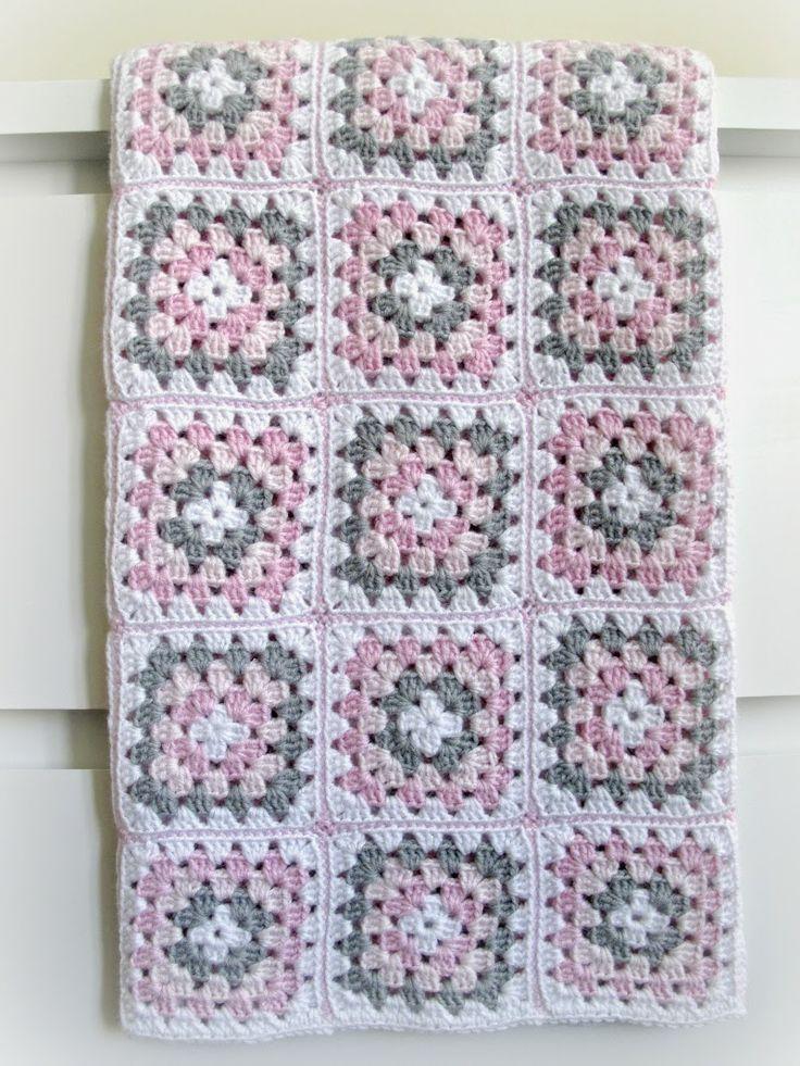 granny square baby blanket // bebek battaniyesi
