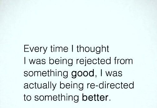 Some food for thought.  Do you agree? ▶Rejected FROM  ▶Re-directed TO ▶Actually=in fact.
