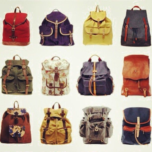 ►Muchas mochilas‼
