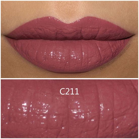 Make Up For Ever Artist Rouge Creme Lipstick in C211 - Review and Swatch