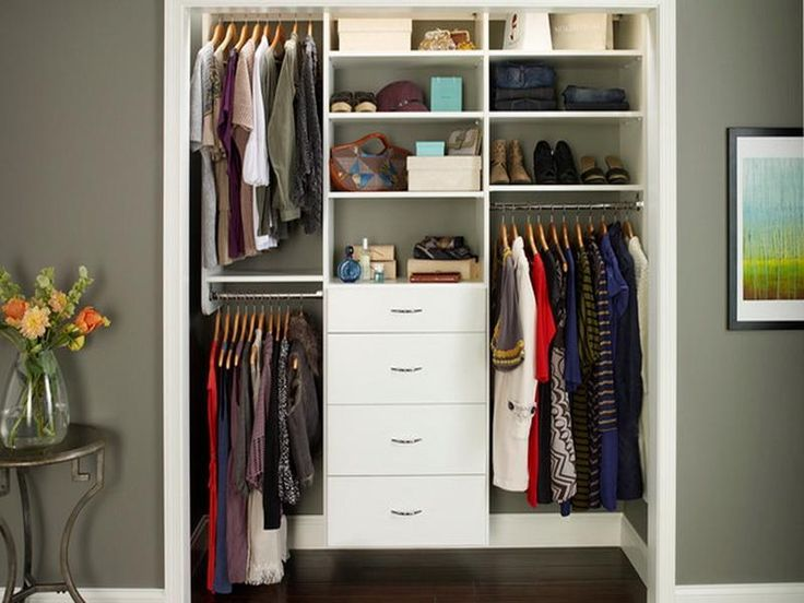 17 best ideas about small closet design on pinterest small closet storage small closets and closet redo - Small Closet Design Ideas