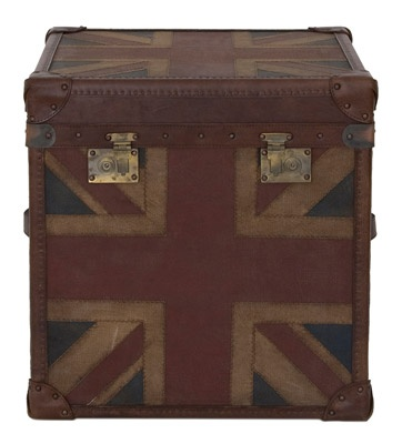 Adam Got A Set Of These Vintage Look Union Jack Trunks For His Birthday! Design Inspirations