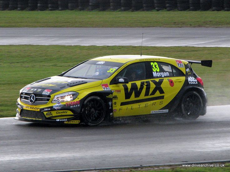 Mercedes benz a45 amg wix racing automobile lovin for Mercedes benz race cars