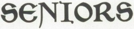 1913 font in the yearbook of Topeka High School in Topeka, Kansas. #Topeka #Kansas #yearbook #1913 #font