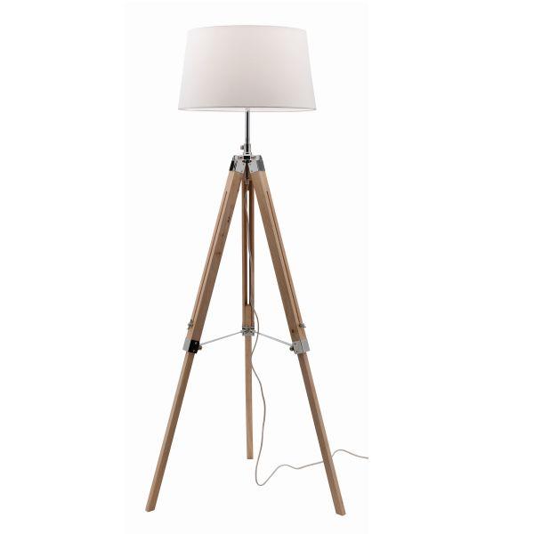 Doug Natural Floor Lamp