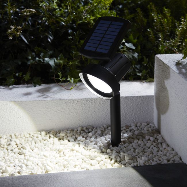 Lampka Solarna Spot Wbijana 39 Lm Czarna Oswietlenie Solarne Outdoor Decor Decor Home Decor