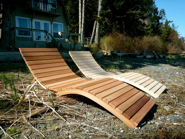 Foldable S Lounger - bentwoodwork
