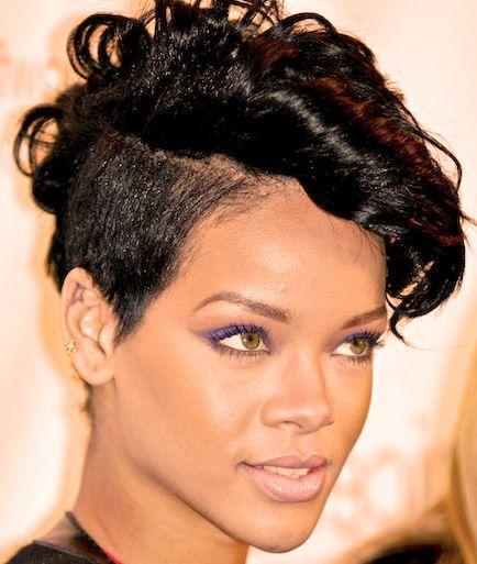 Rihanna kort hårfrisyr