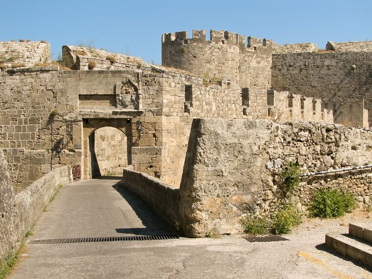 Rhodos Old Town Fort