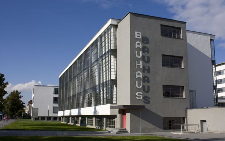 Edificio de la bauhaus edificios pinterest walter o for Bauhaus berlin edificio