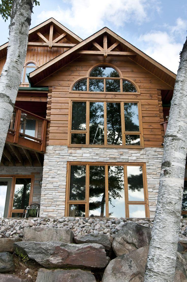 Log home builders nova scotia - The Pinestone Confederation Log Timber Frame