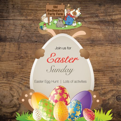 Join us for Easter Sunday!  Will be hosting an Easter Egg Hunt - entrance fee of R100 which includes lots of activities for the kiddies starting at 11:00, with the Easter hunt taking place at 14:00pm (Canoe rides, are not included and can be paid for at Reception for R20 (cash))