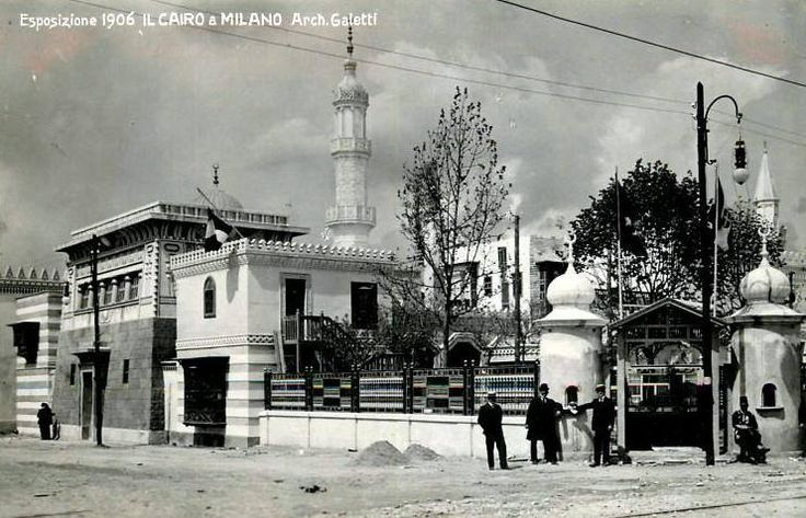 EXPO MILANO 1906. Padiglione egiziano