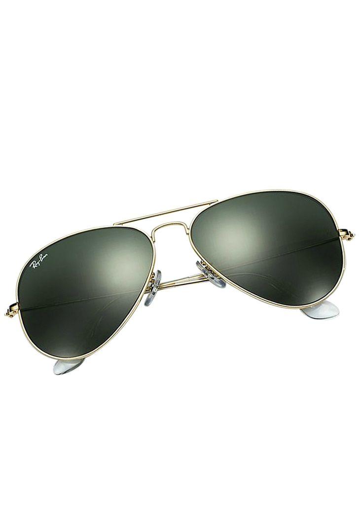 Aviator Sunglasses Gold Frame Crystal Blue Lens : Ray Ban Rb3025 Aviator Sunglasses Gold Frame Crystal Light ...