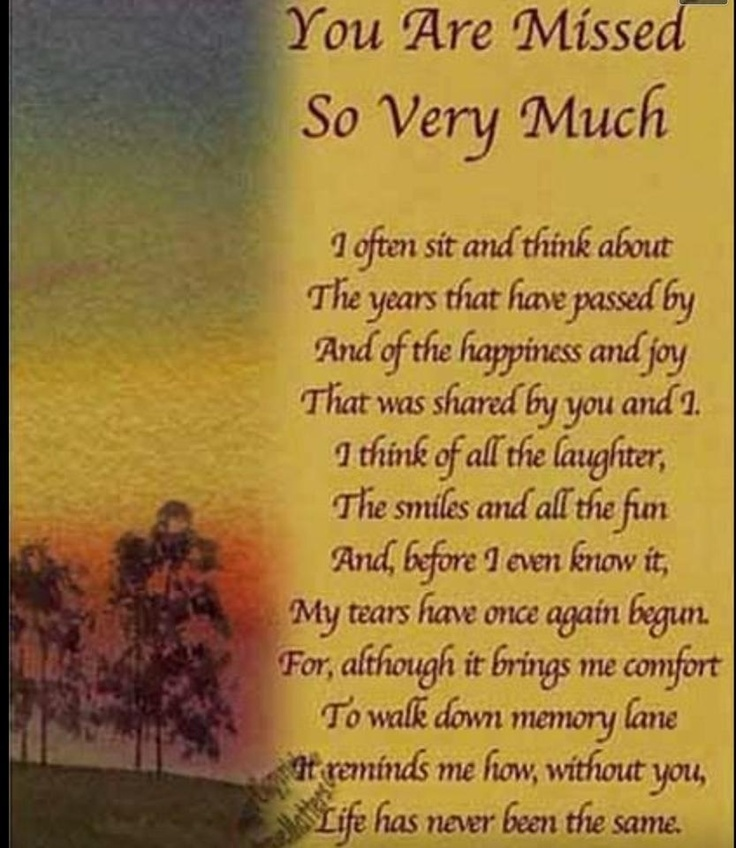 Sad I Miss You Quotes For Friends: Missing A Love One In Heaven