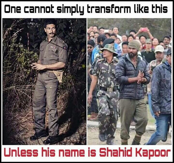 Shahid Kapoor #Rangoon