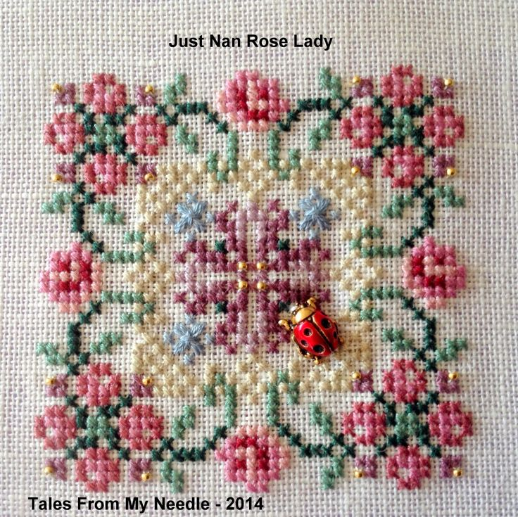 Tales From My Needle: April JN SAL Check In