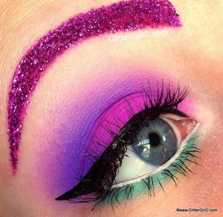 Fun Crazy Eye Makeup