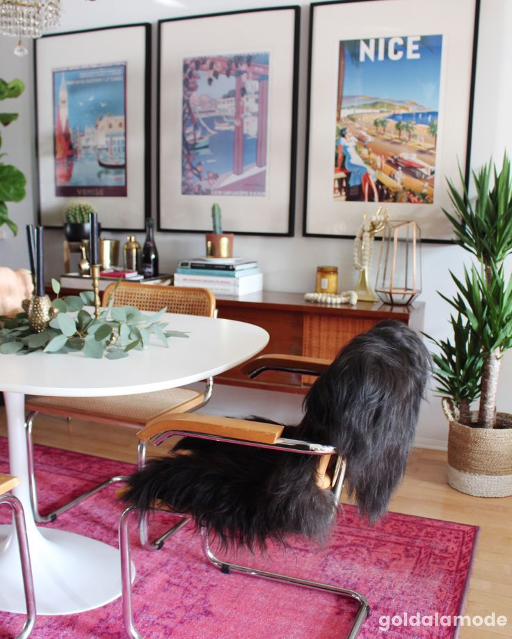 Faux Fur Rugs Are A Decor Item You Can Use Just About