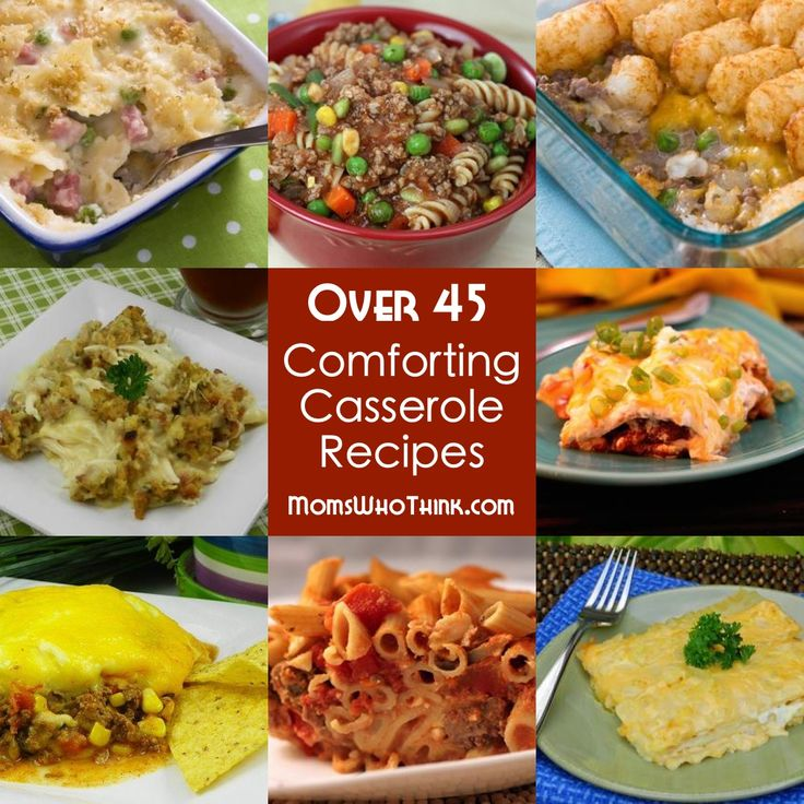 34 best quick and easy recipes images on pinterest easy recipes we have over 45 easy casserole comfort food recipes forumfinder Images