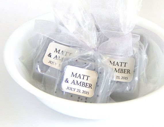 soap silver wedding favors soap favor light gray wedding elegant silver bridal shower favor silver baby