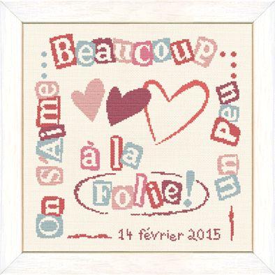 Lilipoints - Saint Valentin - 153 x 153 points