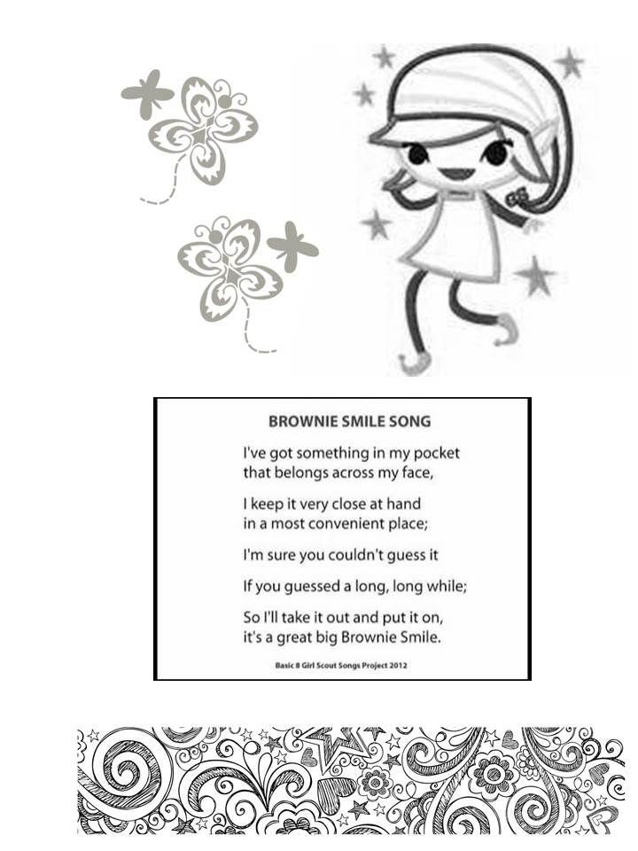 Brownie Elf Coloring Page Coloring