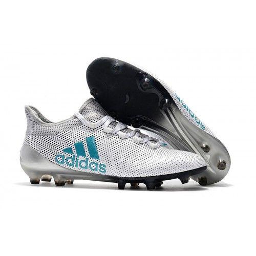 дешевые Бутсы adidas x 17 1 fg белый Серебряный синий