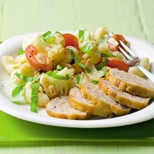 Recept - Kiprollade met groentemacaroni - Allerhande