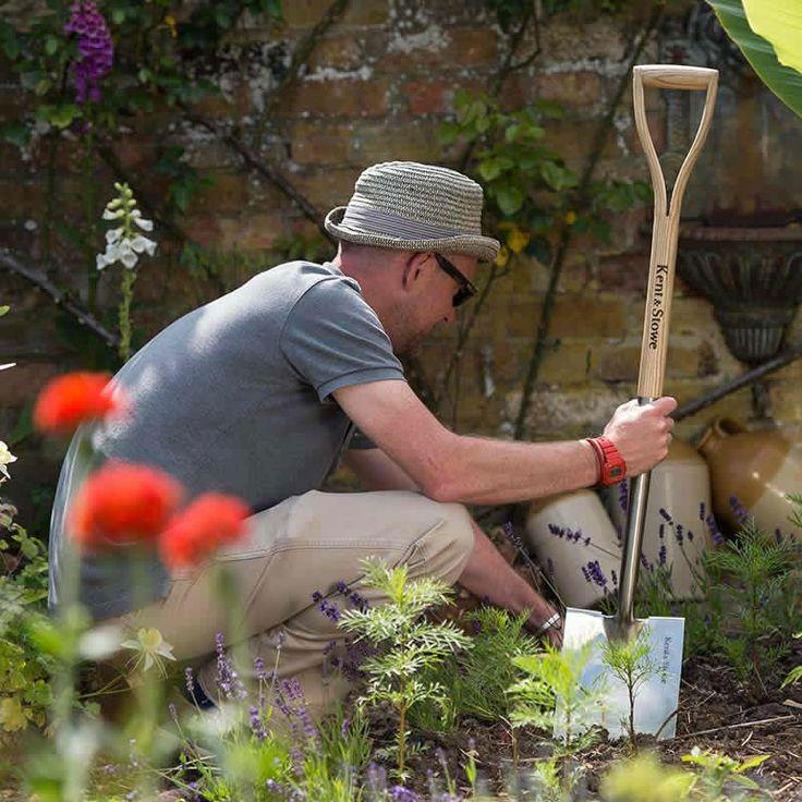 Rabattspade, Border Spade #Trädgårdsarbete #Trädgårdsredskap #Spade