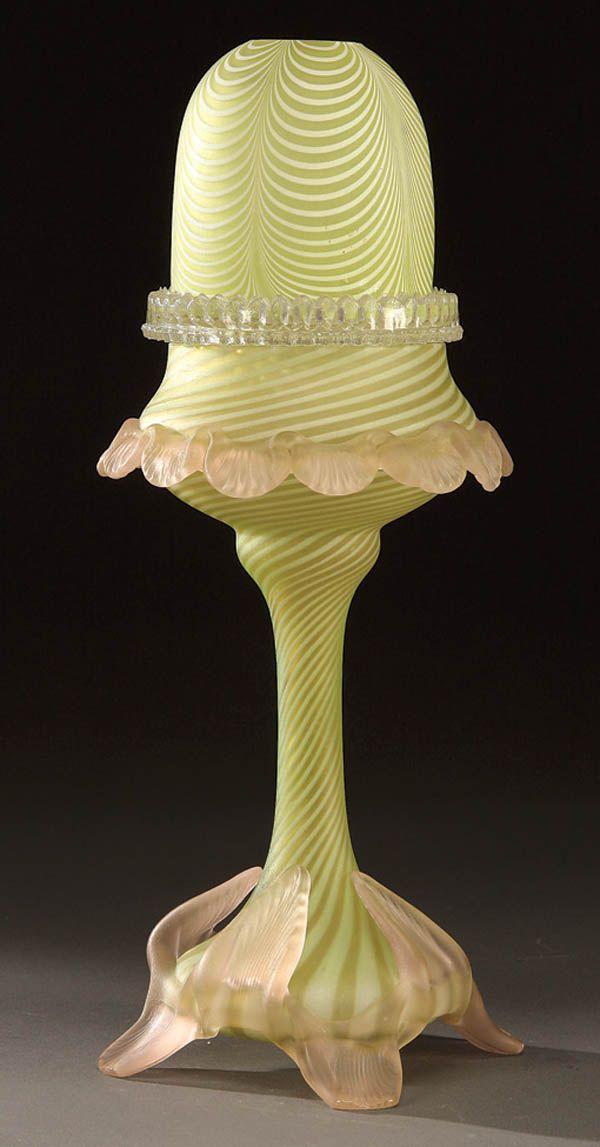 Nailsea Fairy Lamp