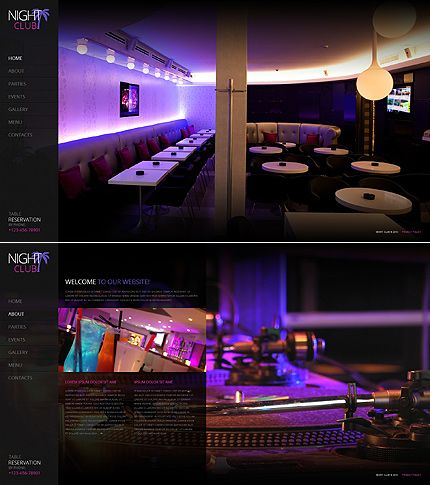 Night Club Website Template http://www.templatemonster.com/website-templates/41923.html?utm_source=pinterest&utm_medium=timeline&utm_campaign=night