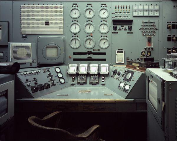 The Manhattan Project: B Reactor Control Console, Source of Nagasaki Bomb Plutonium, Hanford Nuclear Reservation, Washington, 1944